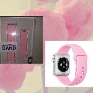 🍭NWT PINK CANDY COLOR APPLE WATCH BAND 🍭